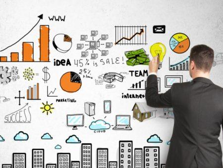 Динамика вакансий и резюме по маркетологам