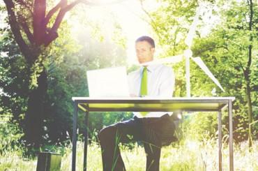 Офис-сад: 5 замечательных «природных» офисов