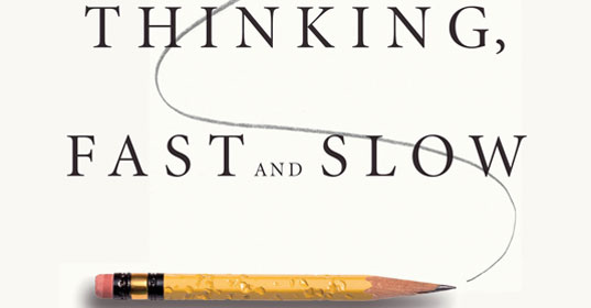 thinking, fast ans slow
