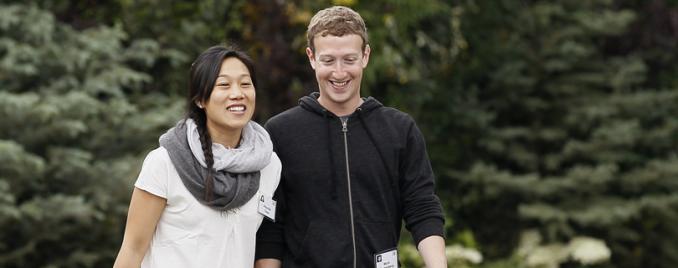 Цукерберг с женой