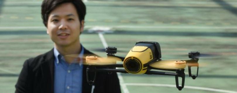 В Японии полицейские дроны будут охотиться за гражданскими беспилотниками
