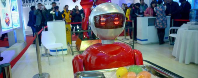 роботы Китай