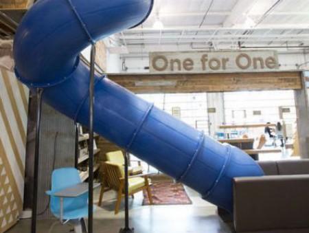 Как работают в Zappos, LinkedIn, Kickstarter и Facebook: самые необычные офисные решения от ведущих компаний мира
