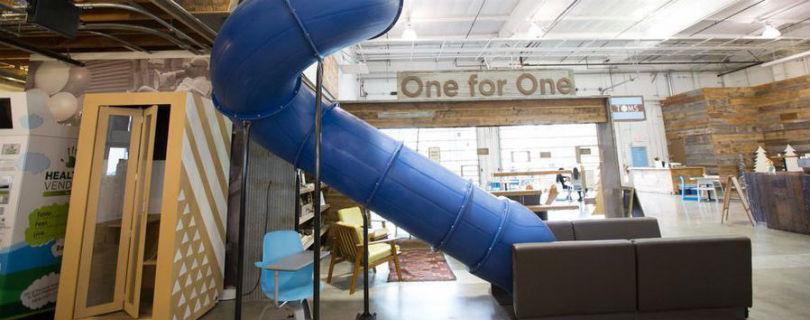 Самые необычные офисные пространства от лучших компаний мира