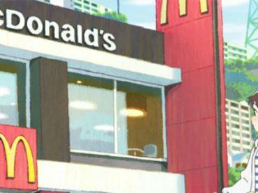 McDonald's снимает аниме, чтобы привлечь на работу японскую молодежь