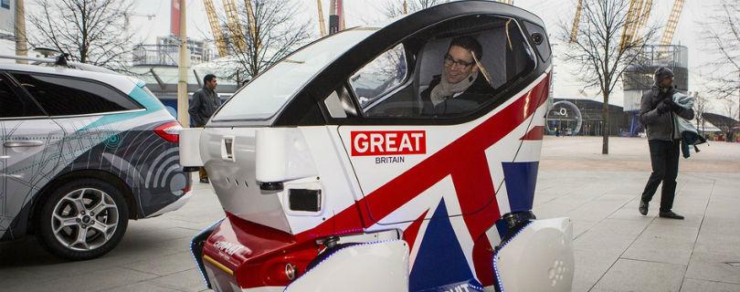 Великобритания готовится тестировать беспилотные автомобили