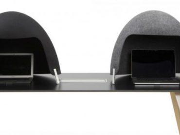 Дизайнеры разработали звуконепроницаемый «шлем», который поможет интровертам сосредоточиться на работе
