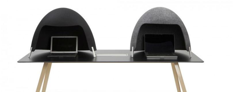 Дизайнери разработали звуконепроницаемый «шлем», который поможет интровертам сосредоточиться на работе