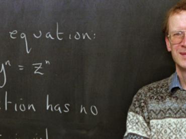 «Нобель» для математиков: британский ученый получил Абелевскую премию за доказательство теоремы Ферма
