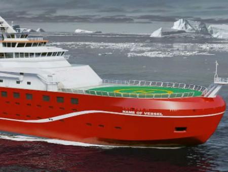 Британское полярное исследовательское судно могут назвать «Лодочкой с лицом лодки»