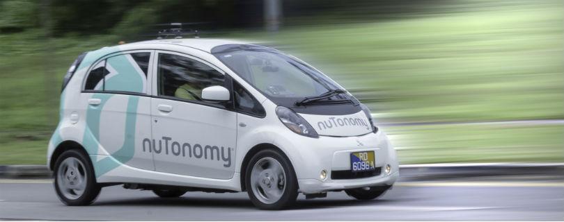 Беспилотные такси появятся в Сингапуре уже в этом году