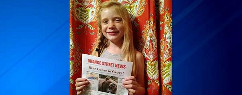 9-летнюю журналистку критикуют за репортаж об убийстве