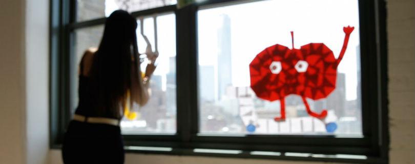 Офисные сотрудники в Нью-Йорке устроили «войну стикеров»
