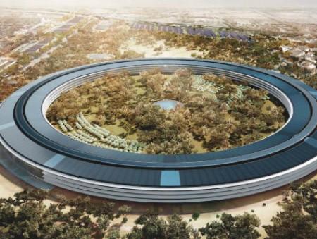 Apple будет продавать излишки электроэнергии со своего кампуса