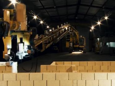 Австралийский робот способен построить кирпичный дом всего за два дня