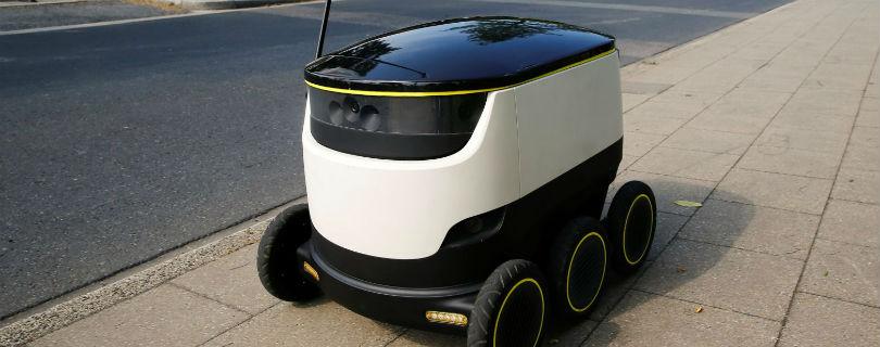 Роботы-курьеры появятся на улицах европейских городов уже в июле