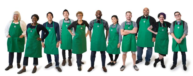 Мировая сеть кофеен Starbucks облегчила дресс-код сотрудникам, чтобы они смогли самовыражаться