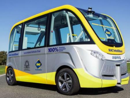 В Австралии запустили первый самоуправляемый автобус