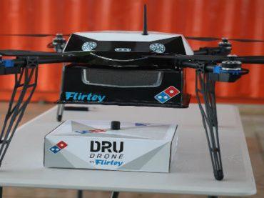 В Новой Зеландии доставку пиццы поручили дронам