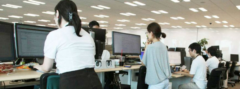 Японские компании пытаются спасти сотрудников от сидячего образа жизни