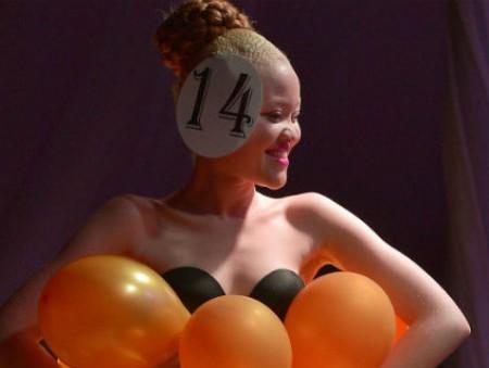 В Кении провели первый в мире конкурс красоты среди альбиносов