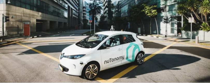 Американский стартап NuTonomy отправит беспилотные авто на улицы Бостона