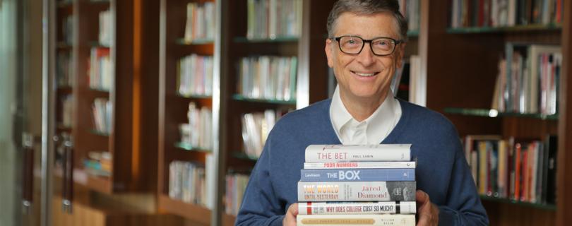 Зимнеее чтиво: 5 любимых книг Билла Гейтса в этом году