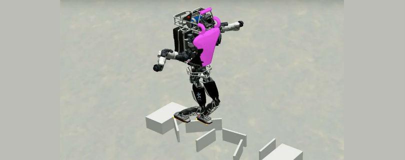 Робот Atlas научился ходить по непроходимой местности