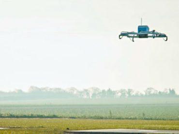 Amazon заменила курьеров дронами