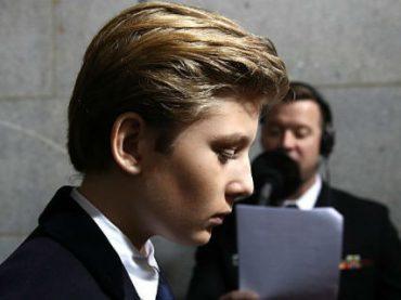 Журналистку уволили за неуместную шутку о сыне Дональда Трампа