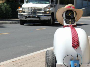 В Стэнфордском университете создали робота, который не боится людей