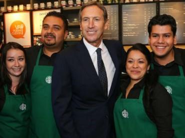 Starbucks пообещал работу 10 000 беженцев в ответ запреты Дональда Трампа