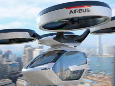 Airbus представила концепт летающего беспилотного такси