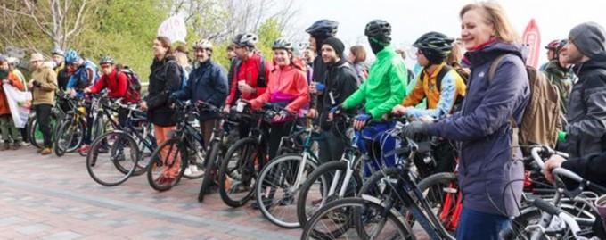 Київ приєднався до весняного дня «Велосипедом на роботу»