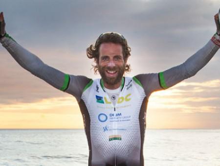 Британский велосипедист планирует объехать вокруг света за 80 дней