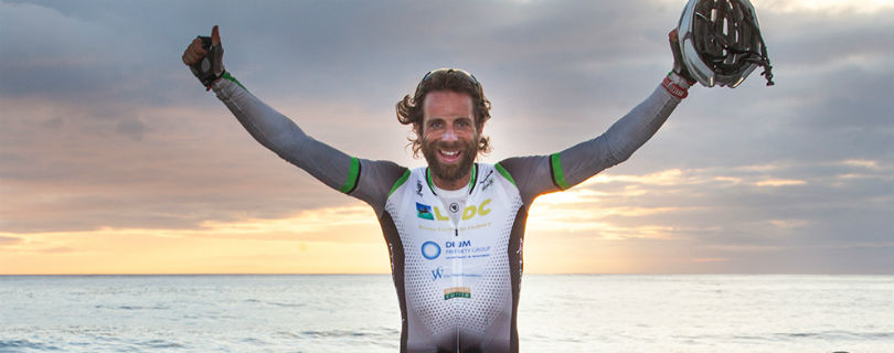 Британский спортсмен хочет совершить кругосветное путешествие за 80 дней
