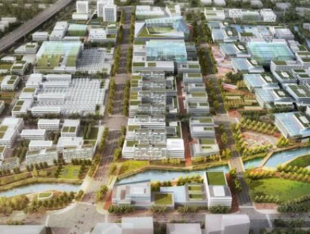 В Шанхае появится футуристический «фермерский район» с вертикальными фермами (фото)