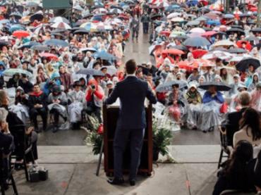 Марк Цукерберг выступил с речью перед выпускниками Гарварда