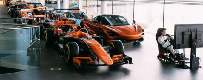McLaren предлагает работу лучшему геймеру