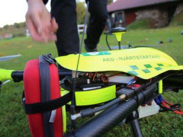 В Швеции дронов обучают оказывать первую помощь