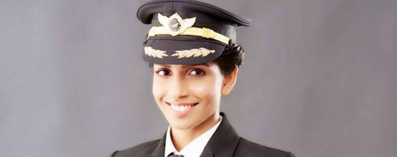 Самая молодая женщина-пилот в мире никогда не была пассажиром самолета