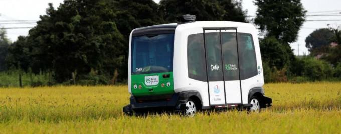 В Японии тестируют беспилотные автобусы в сельских районах