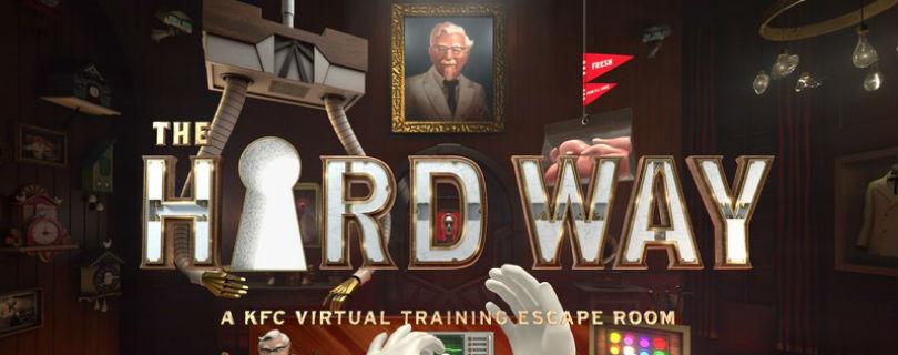 Повара KFC проходят обучение в виртуальной реальности