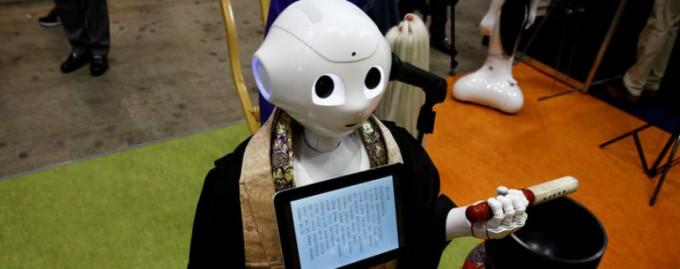 В Японии запрограммировали робота-монаха, который проводит похороны