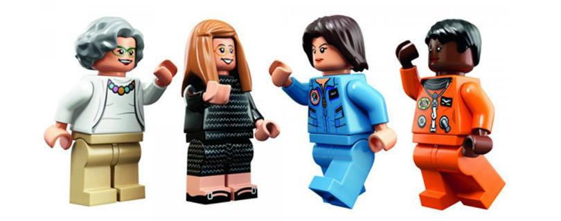 Лучших сотрудниц NASA увековечили в конструкторе Lego