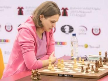 Украинка победила в чемпионате Европы по быстрым шахматам