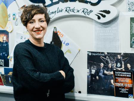 Ведуча Radio Roks Соня Сотник: «У нас має бути дуже багато музики, а з неї виникне якісний продукт»
