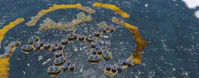 К 2020 году на планете появится первый плавучий город