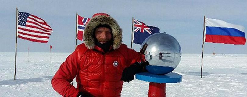 Британский полярник прервал экспедицию по Антактике из-за угрозы жизни