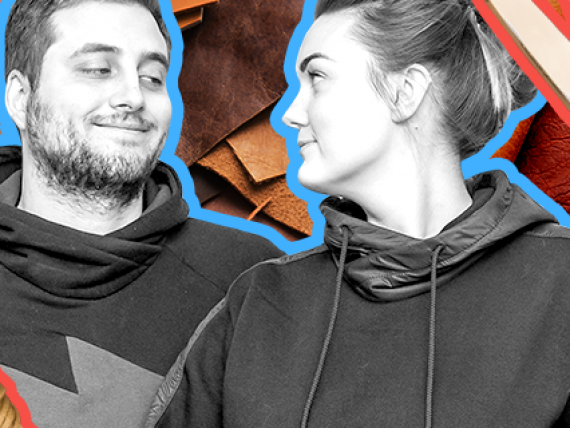 О стартовом капитале, простой мотивации и почему минимализм окрыляет: интервью с основателями бренда изделий из кожи The Wings
